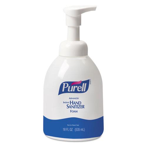PURELL® Advanced Foaming Hand Sanitizer 18 oz, Pump Bottle