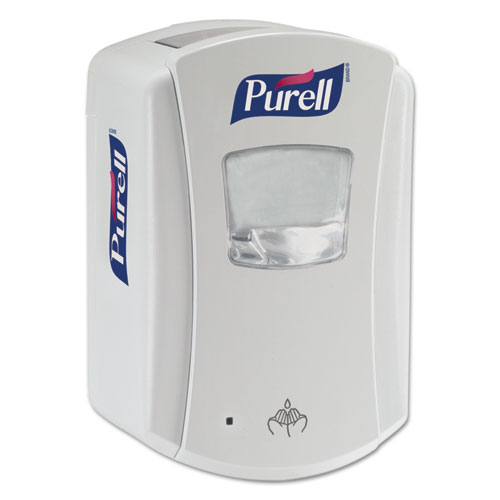 "PURELL® LTX-7 Touch-Free Dispenser, 700 mL, 5.75"" x 4"" x 8.62"", White"
