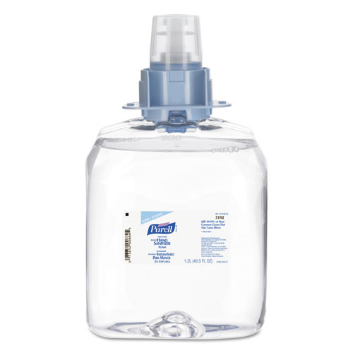 Advanced FMX-12 Foam Instant Hand Sanitizer Refill, w/Moisturizers, 1200mL
