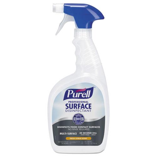 PURELL® Professional Surface Disinfectant, Fresh Citrus, 32 oz Spray Bottle