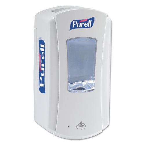 "PURELL® LTX-12 Touch-Free Dispenser, 1200 mL, 5.75"" x 4"" x 10.5"", White"