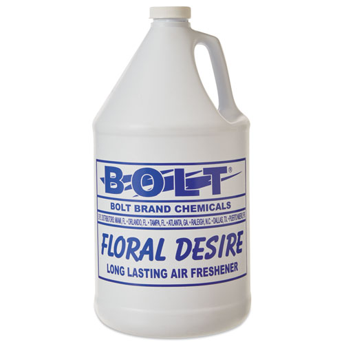 Liquid Deodorizer, Floral, 1 gal, Bottle, 4/Carton