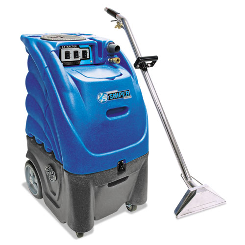 Mercury Floor Machines PRO-12 12-Gallon Carpet Extractor w/ Dual Vacuum Motors, 12gal Tank