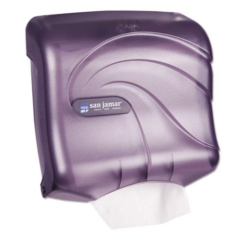 Ultrafold Towel Dispenser, 11 1/2 x 6 x 11 1/2, Plastic, Black Pearl T1759TBK