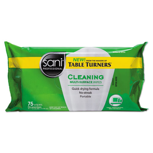 Multi-Surface Cleaning Wipes, 7 x 9, White, Citrus Scent, 75/Pack, 20 PK/Carton A972FW