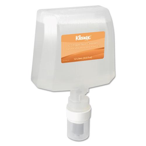 E-2 Foam Skin Cleanser, Medicinal Scent, 1200 mL Refill