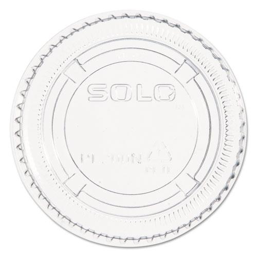 Dart® Complements Portion/Medicine Cup Lids, Plastic, Clear, 2500/Carton