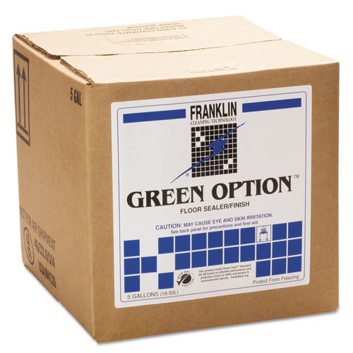 Franklin Cleaning Technology® Green Option Floor Sealer/Finish, 1 gal Bottle, 4/Carton