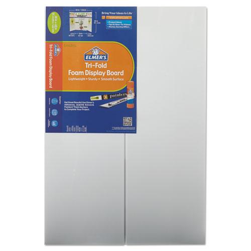 CFC-Free Polystyrene Foam Premium Display Board, 24 x 36, White, 12/Carton