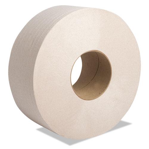 "Cascades PRO Perform Moka Jumbo Roll Tissue, 2-Ply, 3 1/2"" x 1000 ft, Beige, 12 Rolls/Carton"