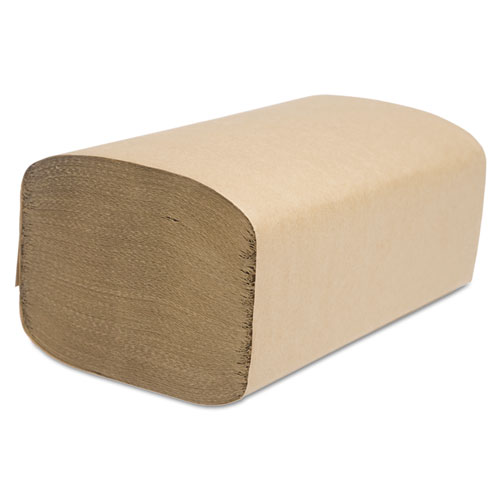 Select Folded Towel, Singlefold, Natural, 9 1/8 x 10 1/4, 250/Pack, 4000/Carton