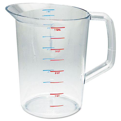 Bouncer Measuring Cup, 4qt, Clear 3218CLE