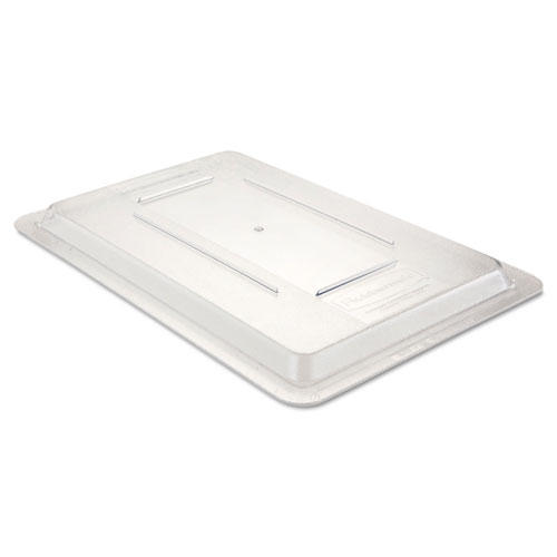 Food/Tote Box Lids, 12w x 18d, Clear