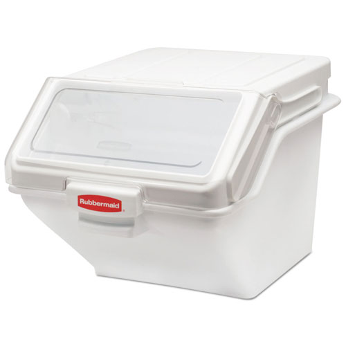 Rubbermaid® Commercial PROSAVE Shelf Ingredient Bin, 19.2 x 23.5x 16.88, White