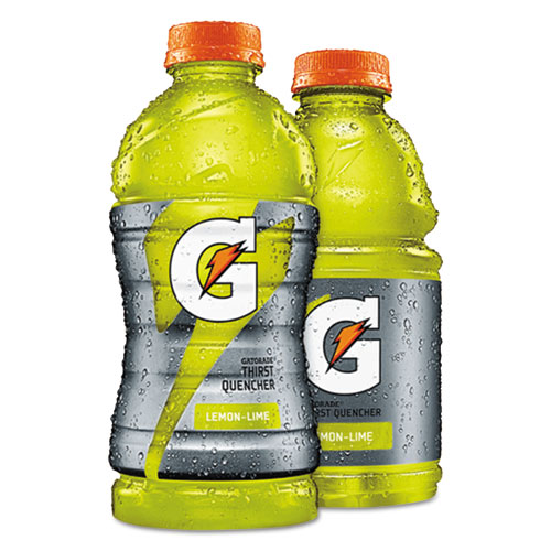 Gatorade® Wide Mouth Bottle Drink, Riptide Rush, 20oz Bottle, 24/Carton