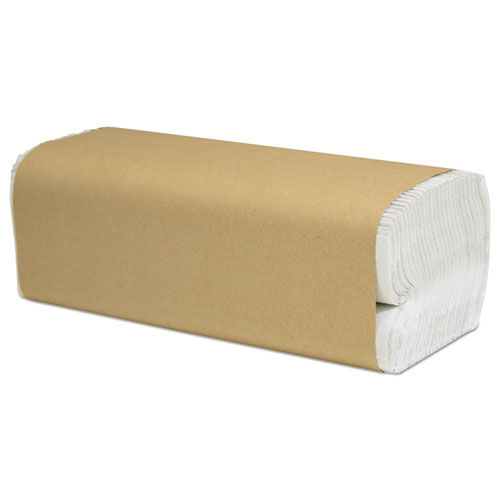 Cascades PRO Select Folded Paper Towels, C-Fold, White, 10 x 13, 200/Pack, 12/Carton