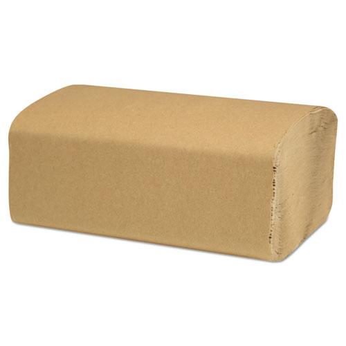 Select Folded Paper Towels, Single-Fold, Natural, 9 x 9.45, 250/Pack, 16/Carton