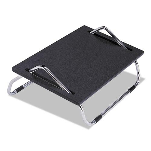 Ergo-Comfort Adjustable Footrest, 18.5w x 11.5d x 8h, Black