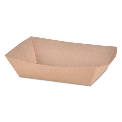 Paper Food Baskets, Brown Kraft, 2 lb Capacity, 1000/Carton