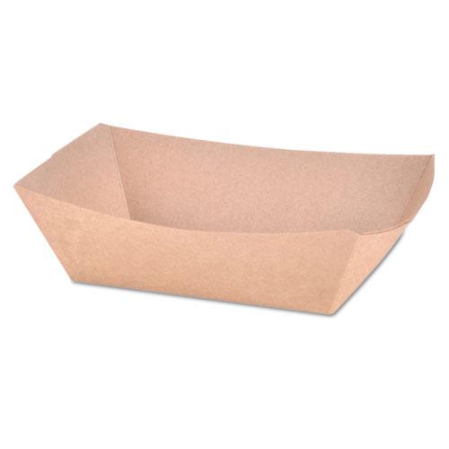 Paper Food Baskets, Brown Kraft, 1 lb Capacity, 1000/Carton