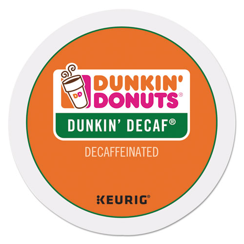 K-Cup Pods, Decaf, 24/Box 0846