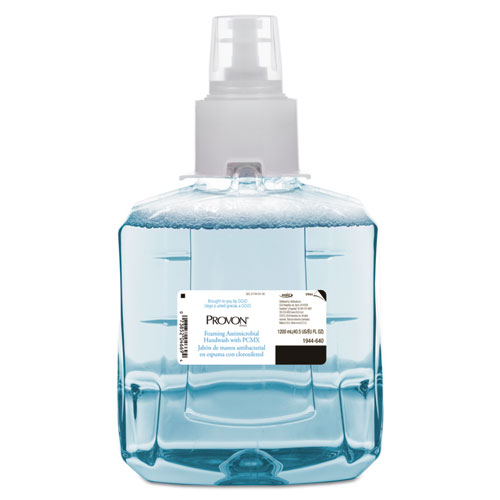 PROVON® Foaming Antimicrobial Handwash with PCMX, Floral,1200mL Refill, For LTX-12, 2/CT
