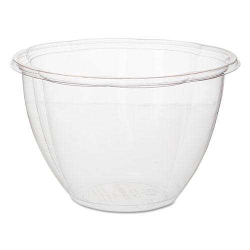 """Salad Bowls, Clear, 48 oz, 6.69"""" Dia, 300/Carton"""