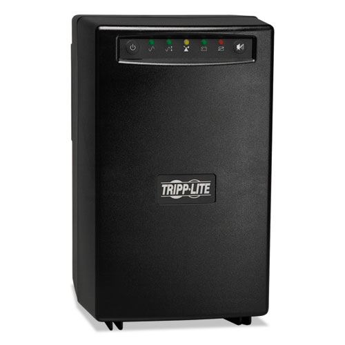 OmniVS Line-Interactive UPS Extended Run Tower, USB, 8 Outlets, 1500VA, 690 J | by Plexsupply