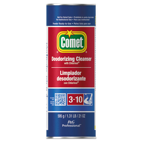 Comet® Cleanser with Chlorinol, Powder, 21 oz Canister