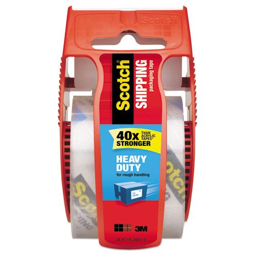 3850 Heavy Duty Packaging Tape In Sure Start Disp 1 88 X 800