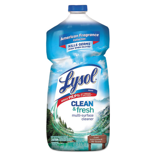 Clean and Fresh Multi-Surface Cleaner, Cool Adirondack Air, 40 oz Bottle