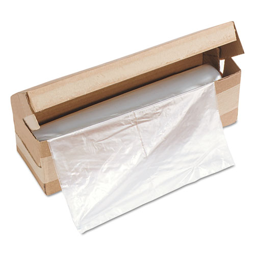 Shredder Bags, 58 gal Capacity, 100 Bags/Roll, 1/Roll