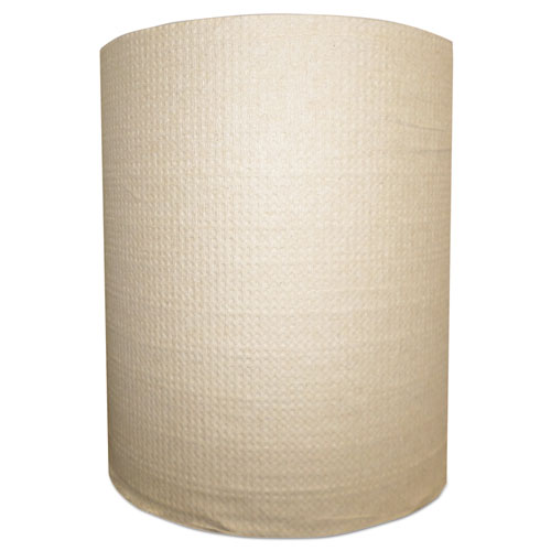 "Morcon Paper Hardwound Roll Towels,1-Ply, 7.875"" x 400 ft, Kraft"