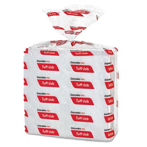 Cascades PRO Tuff-Job S600 High Performance Wipers, 12 x 13, 50/Bag, 18 Bag/Carton