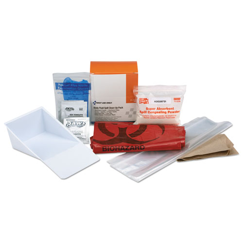 BBP Spill Cleanup Kit, 3.625 x 4.312 x 2.25