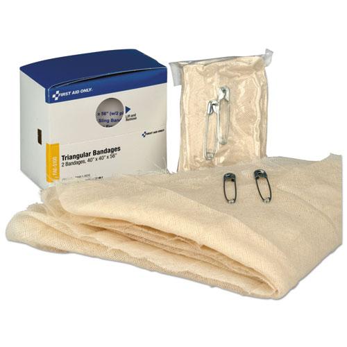 Refill F/smartcompliance Gen Business Cabinet, Triangular Bandages,40x40x56,2/bx