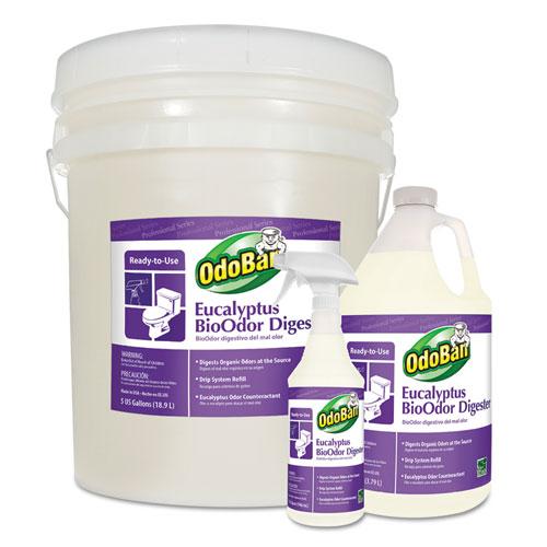 OdoBan® BioOdor Digester, Eucalyptus Scent, 5 gal Pail