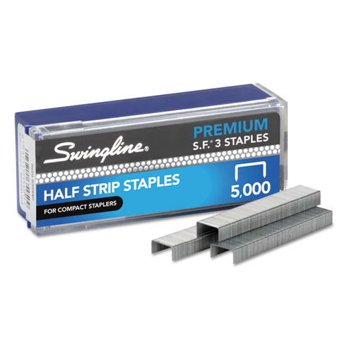 S.F. 3 Premium Staples, 0.25 Leg, 0.5 Crown, Steel, 5,000/Box