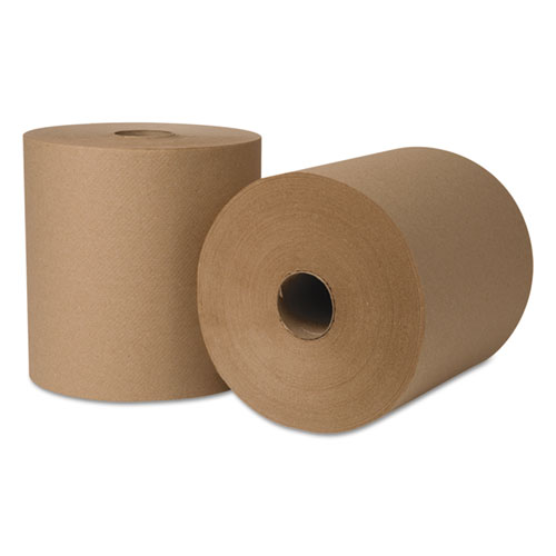 Boardwalk Green Xtra Roll Towels,1-Ply,8x800ft, Natural, 330 Rls/55 Ctn/Pallet