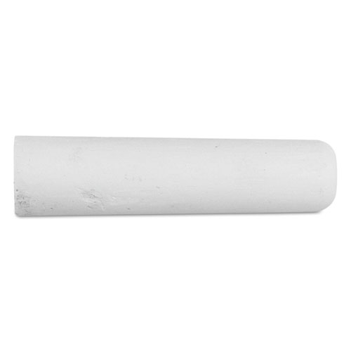 Railroad Crayon Chalk, 4 x 1, White, 72/Box