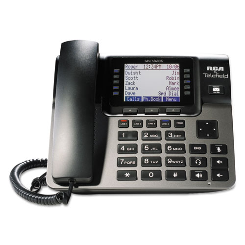 Unison 14 Line Corded/Cordless System, Cordless Desk Phone