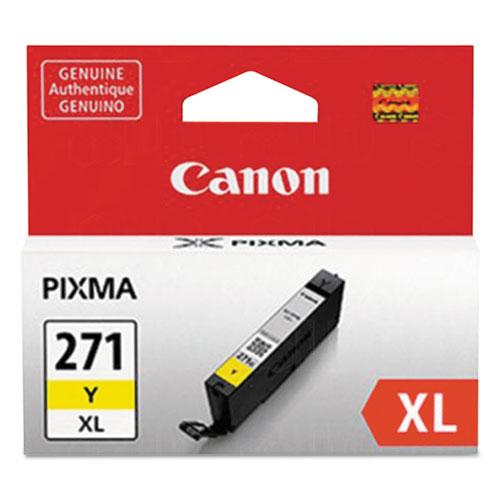 0339C001 (CLI-271XL) High-Yield Ink, Yellow