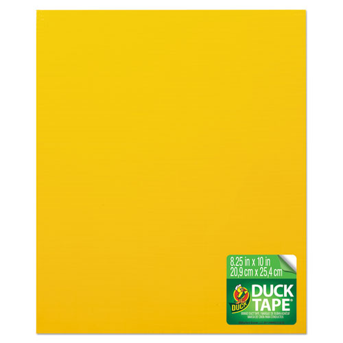 Duck® Tape Sheets, Yellow, 6/Pack