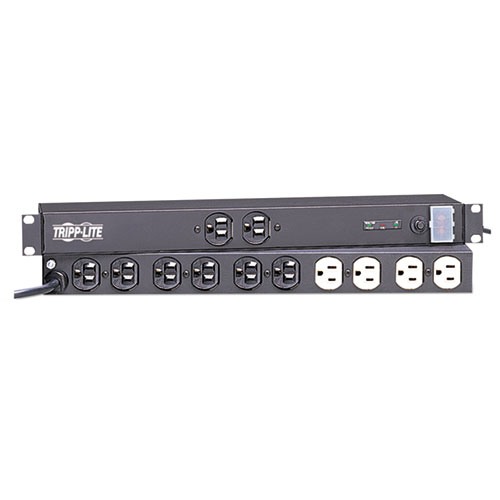 Isobar Ultra Surge Suppressor, 12 Outlets, 15 ft Cord, 3840 Joules, Light Gray