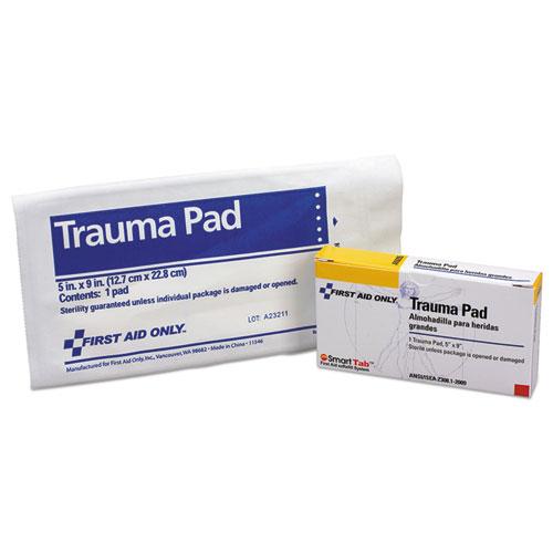 10 Person ANSI Class A Refill, 5 x 9 Trauma Pad