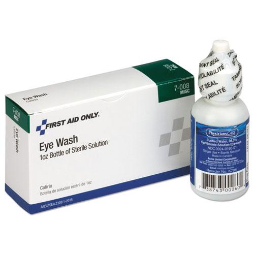 24 Unit ANSI Class A Refill, Eyewash, 1 oz