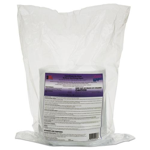 2XL CareWipes Surface Sanitizing Wipes, 10 x 10, 500/Bag, 2/CT