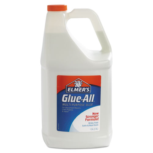 Glue-All White Glue Value Pack, 1 gal, Dries Clear | by Plexsupply