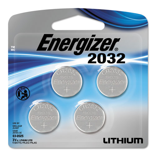 Energizer® Watch/Electronic/Specialty Battery, 2016, 3V, 2/Pack