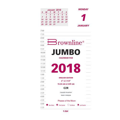 daily 2018 calendar